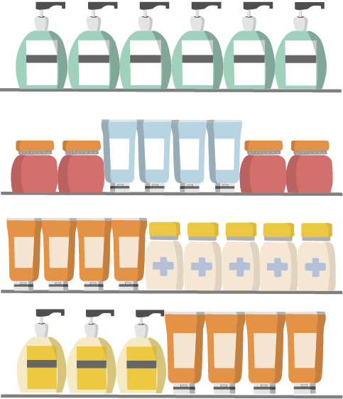 Merchandising en pharmacie - Merchandising